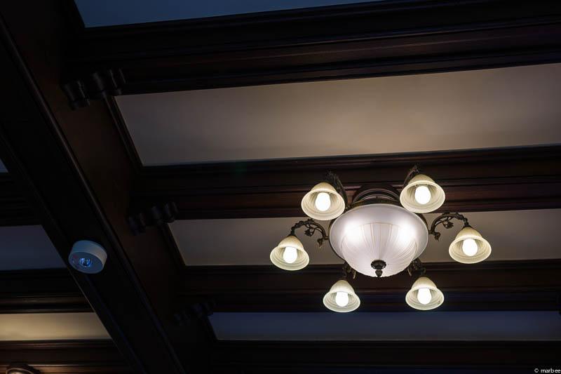 エリスマン邸 電灯