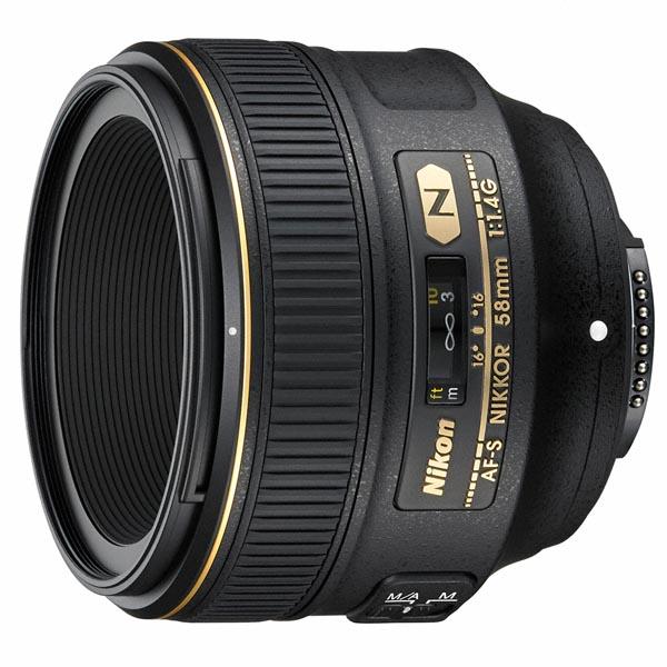 AF-S NIKKOR 58mm f:1.4 G