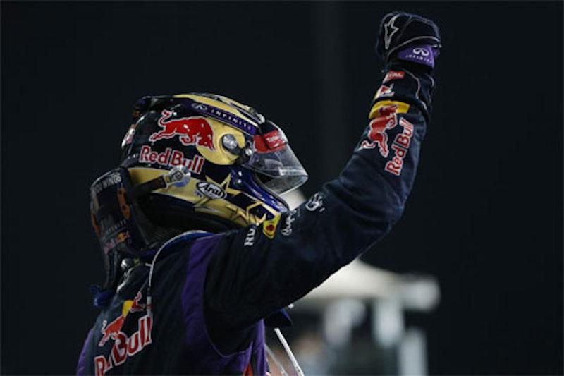 F1 2013 アブダビ 決勝