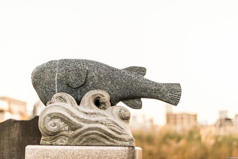 上野公園 石像