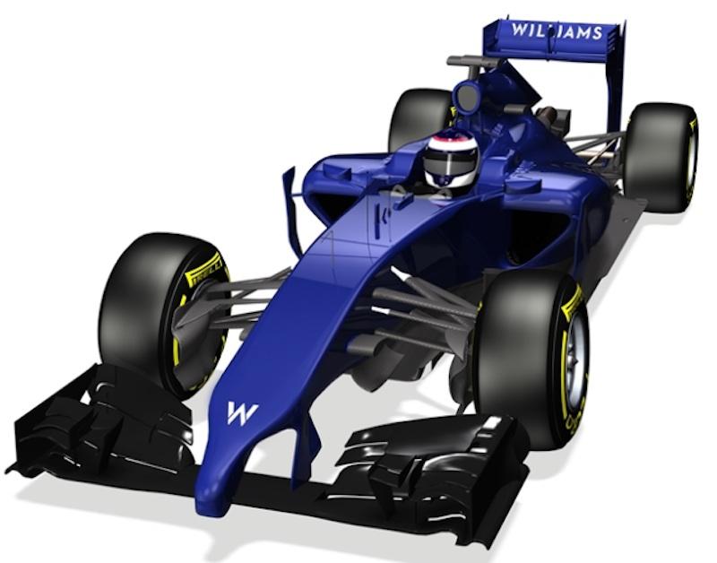 ウィリアムズ FW36 斜め上
