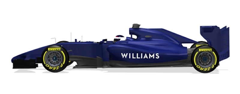 Williams FW36 側面