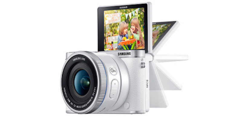 Samsung SMART NX3000 側面