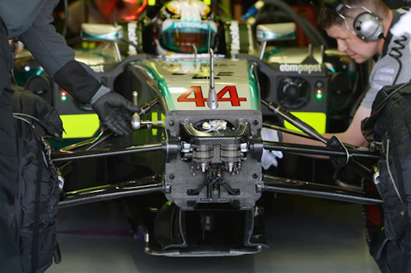 メルセデス、次戦F1ドイツGPでFRICを非搭載へ