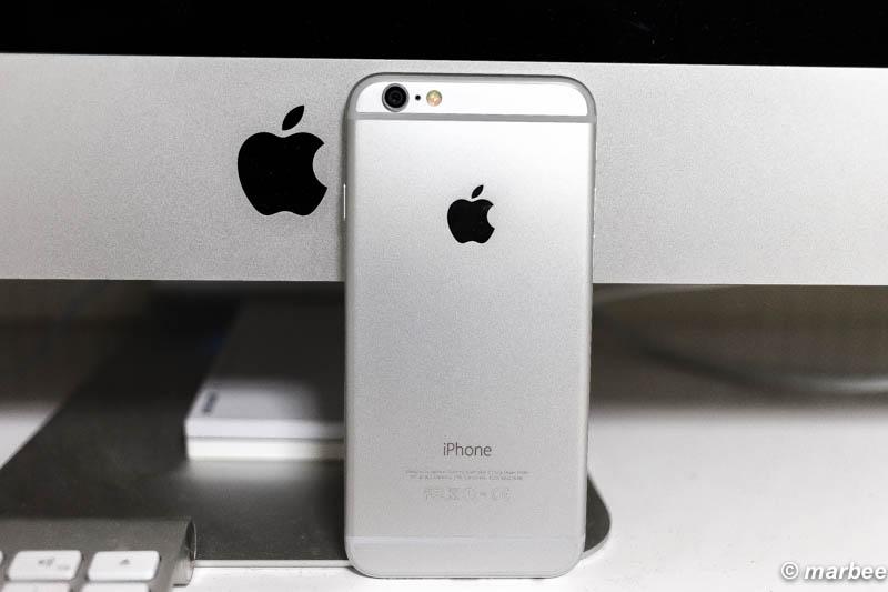 iPhone6 シルバー 背面