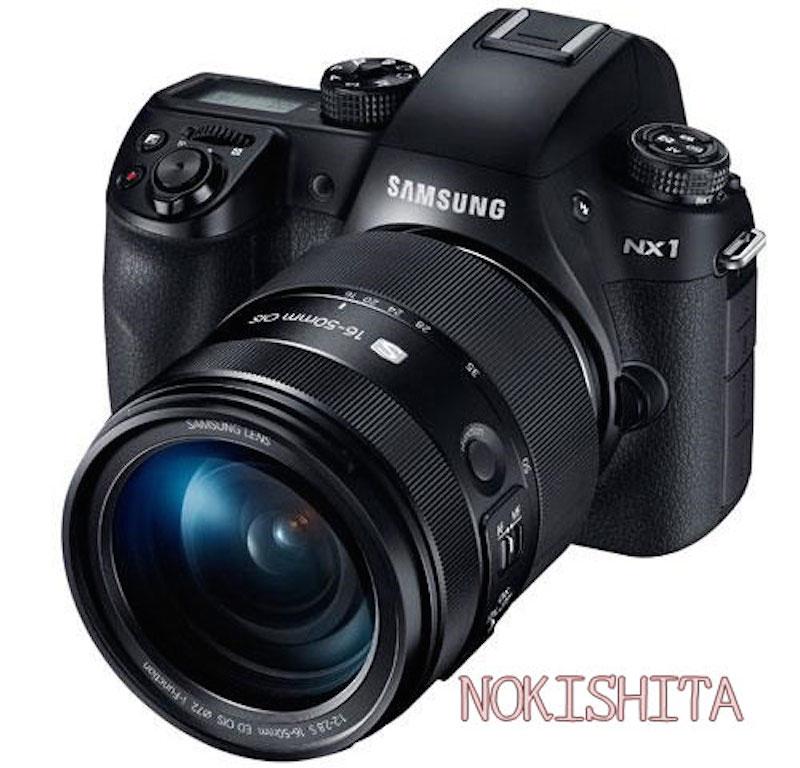 Samsung NX1 正面