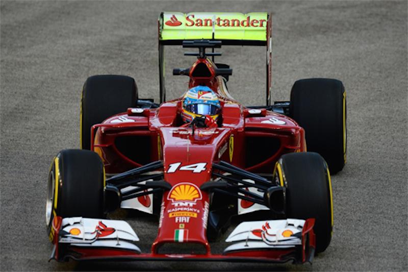 F1 2014 シンガポール FP1