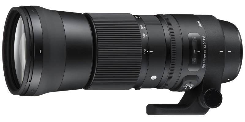 SIGMA 150-600mm F5-6.3 DG OS HSM Contemporary