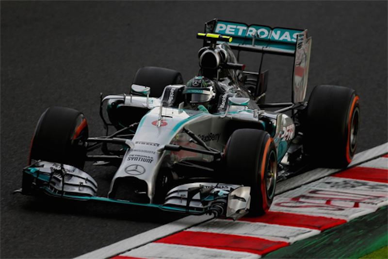 F1 2014 日本 予選