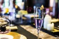 ハロウィーン ワイングラス 紫色の液体は何?