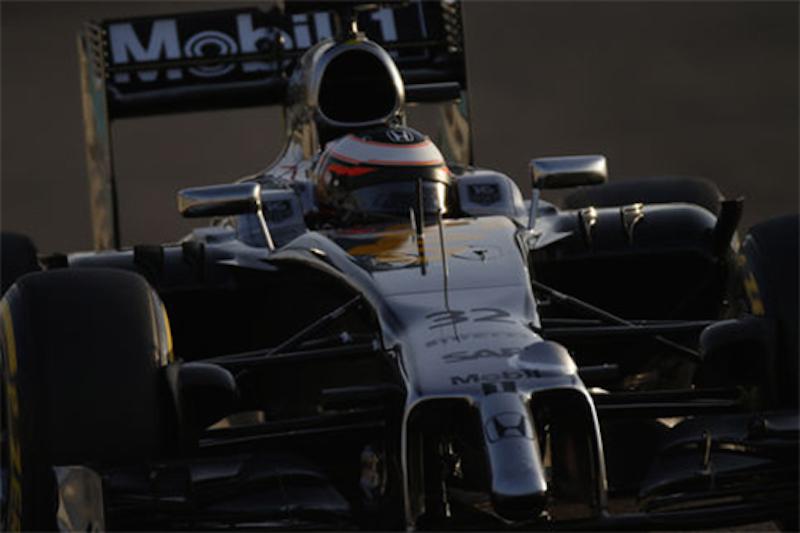 F1 2014 アブダビテスト 2日目