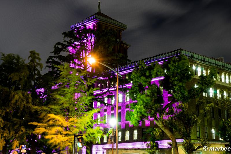 横浜の夜景 神奈川県庁 通称 King