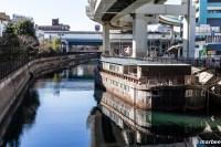 はしけ 横浜開港当初の海上輸送の要