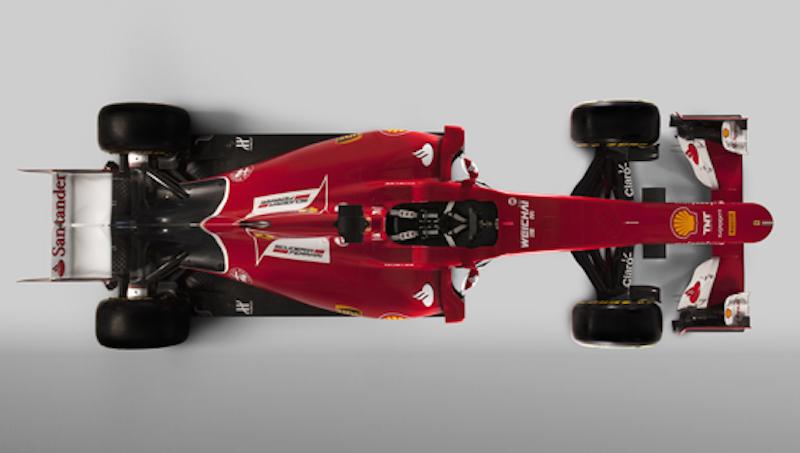 フェラーリ SF15-T 上面