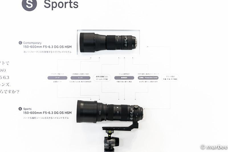 SIGMA 150-600mm F5-6.3 DG OS HSM 比較
