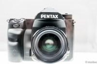 Kマウント フルサイズデジタル一眼レフカメラ モック 正面