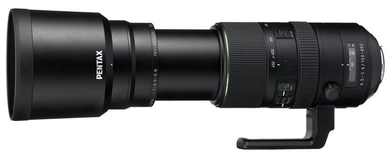 HD PENTAX-D FA 150-450mmF4.5-5.6ED DC AW