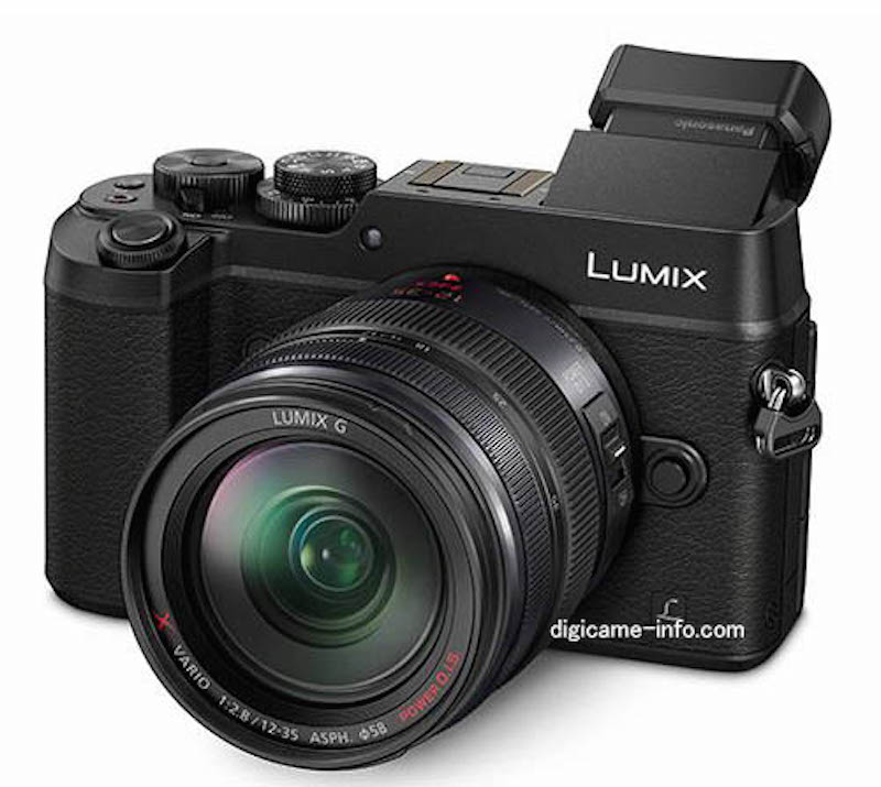 Panasonic DMC-GX8 正面