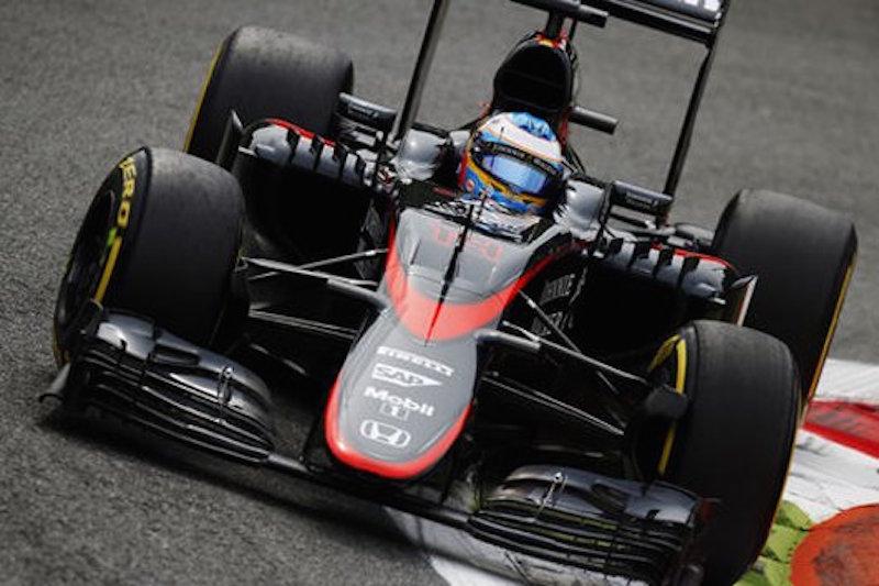 マクラーレン・ホンダ:予想通りのタフな展開 : F1イタリアGP 初日