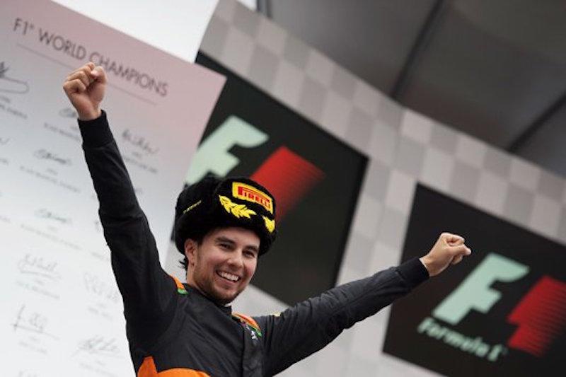 フォース・インディア:セルジオ・ペレスが今季初表彰台 : F1ロシアGP