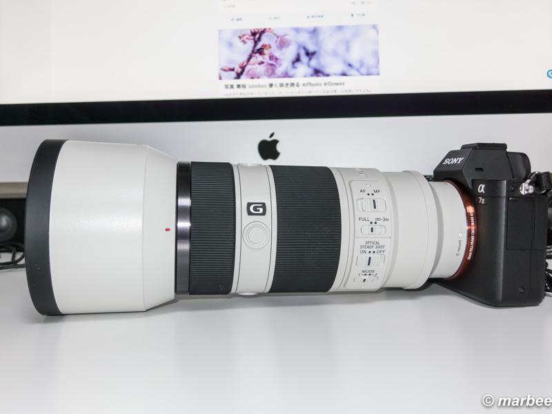SONY 望遠ズームレンズ FE 70-200mm F4 G OSS 購入