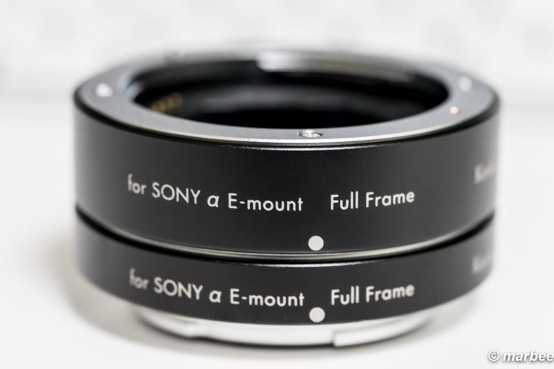 Kenko 接写リング デジタル接写リングセット SONY αE用 フルサイズ対応 10mm/16mmセット