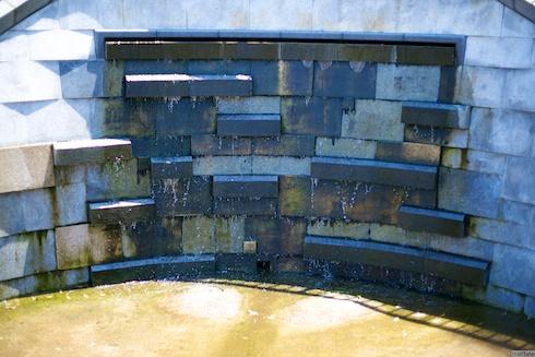 元町公園の水源