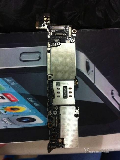 iPhone5ロジックボード後ろ