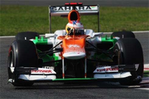 2012年F1イタリアGP予選フォースインディア