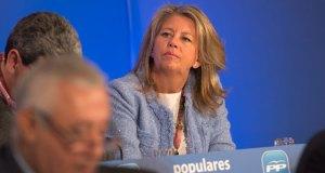 La alcaldesa de Marbella, Ángeles Muñoz, durante un acto del PP
