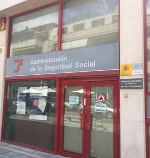 Imagen de la oficina de la Seguridad Social en Marbella