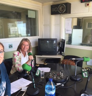 La alcaldesa de Marbella, Ángeles Muñoz, durante su entrevista de este lunes en Onda Cero con Concha Montes y Julio Rodríguez