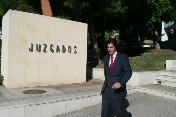 El director general de Urbanismo, Mario Ruiz, tras declarar este miércoles como testigo