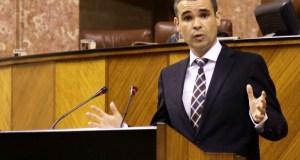 El diputado José Bernal en el Parlamento Andaluz