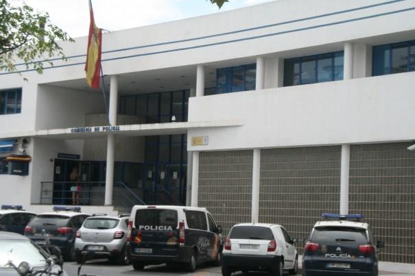Imagen de la Comisaría de la Policía Nacional en Marbella.