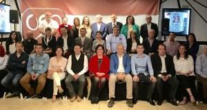 Imagen de la presentación de la lista completa de OSP, entre cuyos integrantes hay miembros del Consejo Consultivo.
