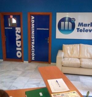 Imagen de las instalaciones de RTV Marbella que reproduce su web municipal