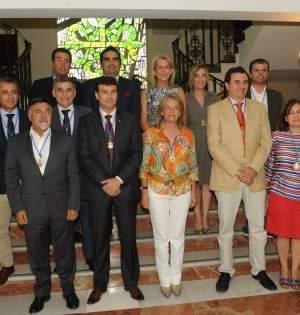 Foto de familia de los concejales del PP en el Ayuntamiento de Marbella, con la ausencia de Javier Mérida.