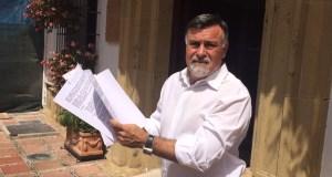 El concejal del PP Baldomero León, en imagen de archivo. Foto/ marbellaconfidencial .es
