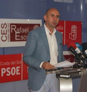 El secretario de Política Institucional del PSOE-A, Francisco Conejo, en imagen de archivo
