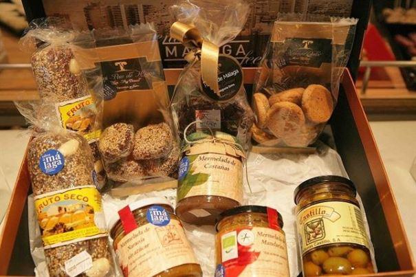 Surtido de productos bajo la denominación 'Sabor a Málaga'. Foto/ Europa Press