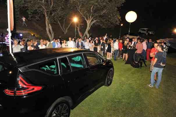 Imagen de la presentación del nuevo modelo de Renault Espace en el restaurante El Lago. Foto/ MARBELLA IMAGEN