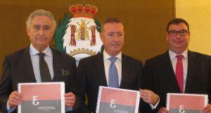 Miembros del Colegio de Economistas de Málaga, cuyas previsiones para 2015 son optimistas. Foto: Europa Press