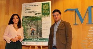 La diputada de Medio Ambiente y Promoción del Territorio, Marina Bravo y el diputado de Deportes y Juventud, Cristóbal Ortega. Foto/ Europa Press