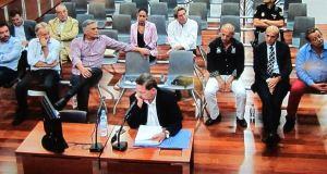 Un acusado declarando durante el juicio. Foto/ Europa Press