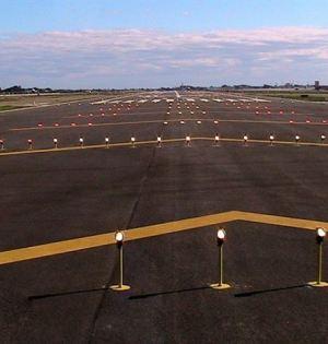 Segunda pista del aeropuerto de Málaga, en funcionamiento desde 2012. Foto: Europa Press/AENA
