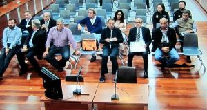 Imagen de archivo del banquillo de los acusados en el 'caso Fergocon'. Foto/ Europa Press