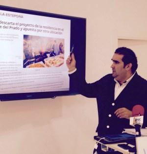 El secretario general del PP de Marbella y concejal, Manuel Cardeña, en una foto de archivo. FOTO/ marbellaconfidencial.es