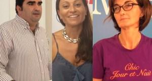De izqda a drcha el concejal del PP Manuel Cardeña, exdelegado de Derechos Sociales; la edil delegada de Derechos Sociales, Victoria Morales (IU) y la concejala de Podemos Victoria Mendiola. FOTOS/ MARBELLA CONFIDENCIAL