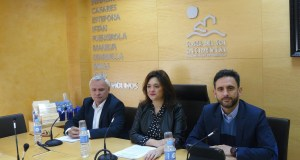 La presidenta de Mancomunidad Occidental, Margarita Del Cid, y el vicepresidente, José Antonio Gómez, alcalde de Ojén (drcha) en imagen de archivo. FOTO/ EP